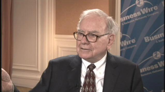 Buffett Business Wire Interview
