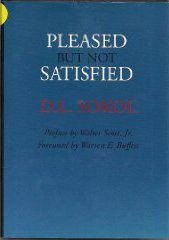 Book Review:  Pleased But Not Satisfied by David Sokol