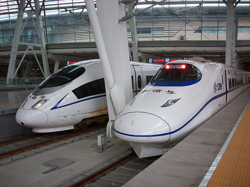 China's Ambitious High Speed Rail Plans Dwarf American Initiatives