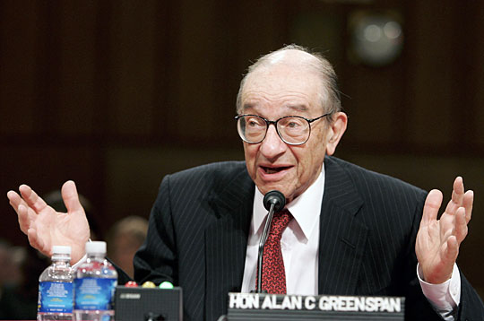 """Greenspan:  Those Who Predicted Housing Bubble are """"Statistical Illusions"""""""