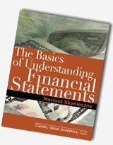 Book Review:  The Basics of Understanding Financial Statements