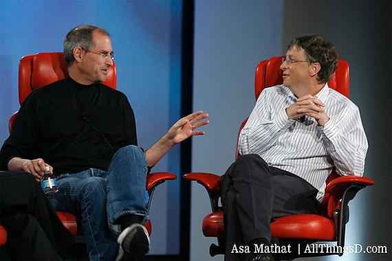 Apple Leads Microsoft in Market Cap Race