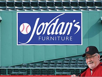 Jordan's Furniture Offers Another Unusual Red Sox Promotion